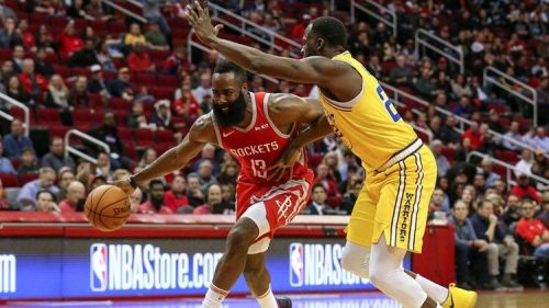 Warriors got blownout by the Rockets. Credit:Khou.com