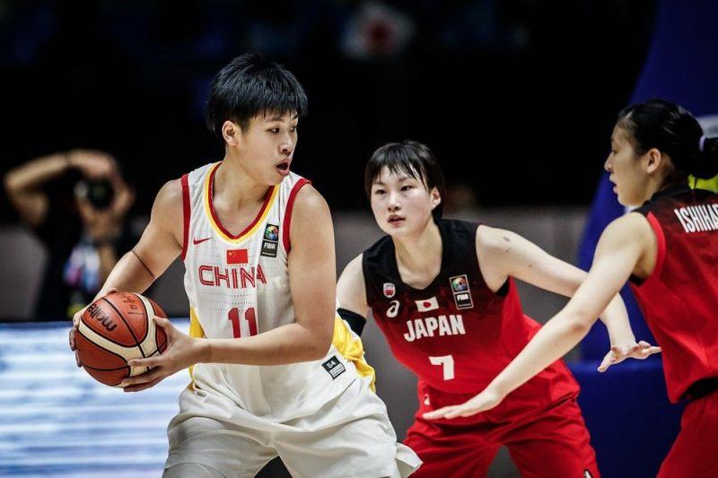Mingling Chen of China earned a double-double - 19 pts, 11 rebs against Korea (Image Courtesy: FIBA)