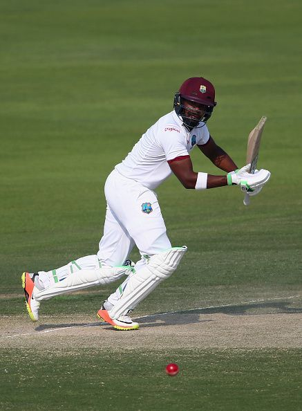 Darren Bravo during the Pakistan v West Indies - 2nd Test: Day Two