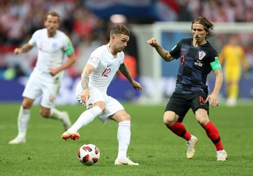 Trippier impressed throughout the tournament as England earned a fourth-placed finish in Russia