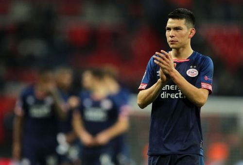 Hirving Lozano has expressed his admiration for Manchester United