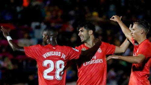 Vinicius played great in his Copa del Rey debut