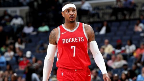 Carmelo Anthony is on the lookout for a new team after just 10 games with the Rockets