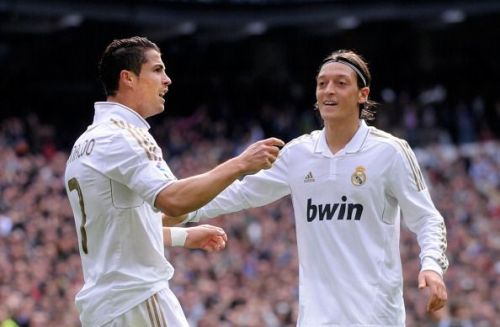 Ronaldo and Ozil at Real Madrid
