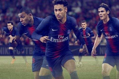 Dream trio in PSG's Home kit