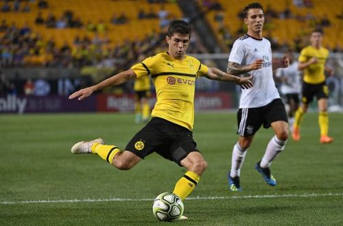 Christian Pulisic - His natural position is on the right side