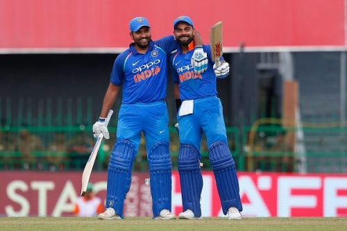 Rohit Sharma and Virat Kohli are two of the best batsmen in the current ODI game