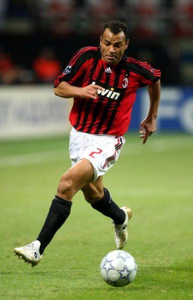 Brazil and AC Milan fullback Cafu