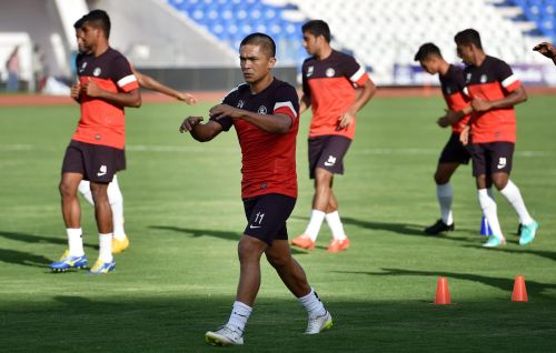 Sunil Chhetri, India forward, has thrilled fans with his fabulous display for Bengaluru FC
