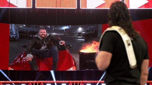 Ambrose explaining his actions!