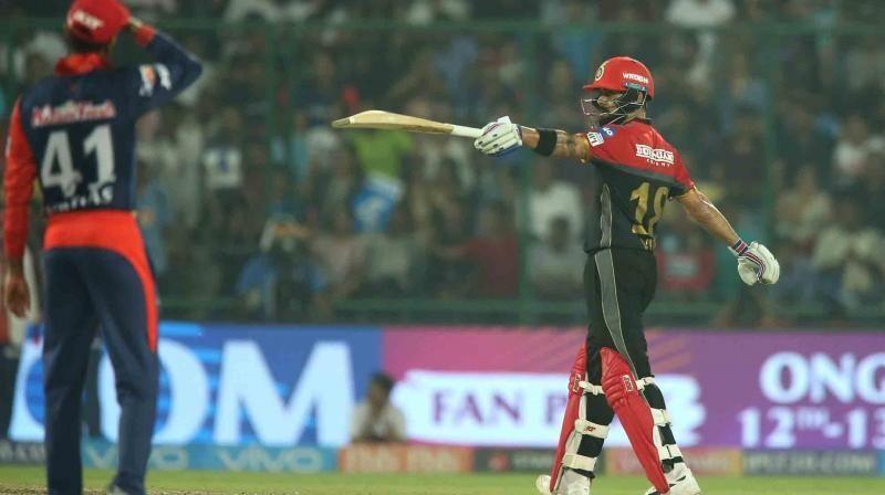 Virat maintains an astonishing record against Delhi Daredevils in IPL