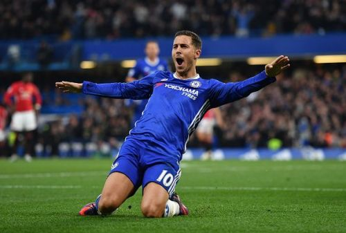 Hazard's form this season puts him among the best in the world currently