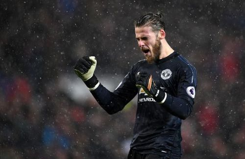 De Gea will be staying at Old Trafford for at least one more year
