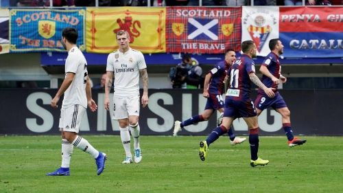 The picture says it all: Madrid humiliated by Eibar