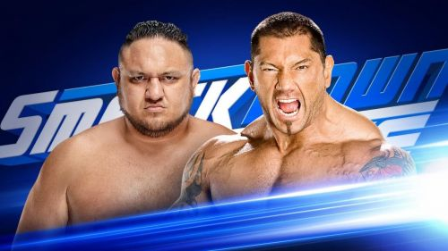 Samoa Joe vs Batista is the one match the WWE Universe would love to see at WrestleMania 35