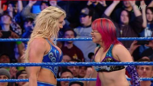 Asuka hasn't been the same ever since her loss to Charlotte at WrestleMania 34