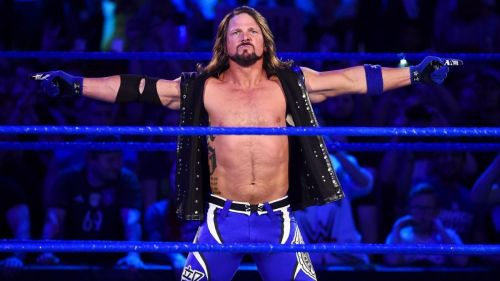 Image result for aj styles wwe