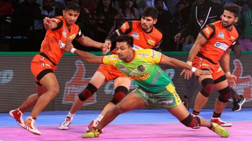 Deepak Narwal did well in the absence of Pardeep Narwal