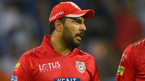 Yuvraj Singh was released by the Kings franchise for the upcoming season