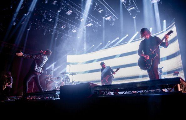 You Me At Six perform live atAlexandra Palace