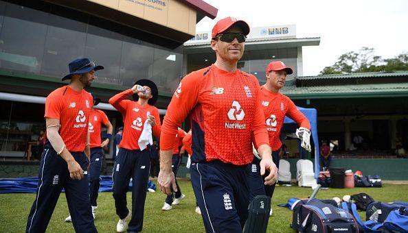 SLC XI v England - Tour Match