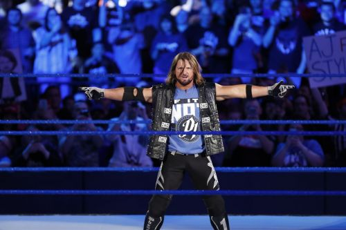 SmackDown Live is the house that AJ Styles built