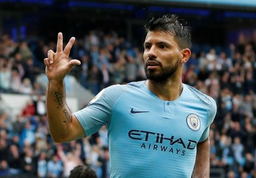 Aguero has joined the coveted club of players who have scored 150 in the Premier League