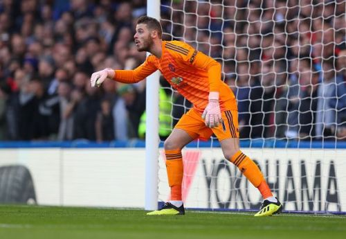 Juventus are rumoured to be interested in moving for Manchester United goalkeeper David De Gea next summer