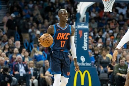Schroder is the backup point guard for the Oklahoma City Thunder