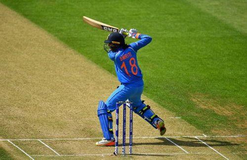 Smriti Mandhana gave India a good start with the bat