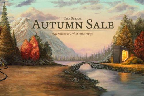 Steam Autumn Sale lasts through 27 November 2018