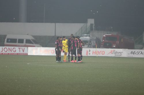 Even players were puzzled when the Minerva Punjab coach tried to make three substitutions prior to the second half kick-off