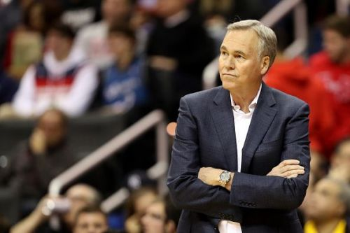 Coach Mike D'Antoni