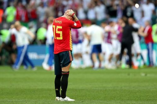 Spain have been in a defensive mess