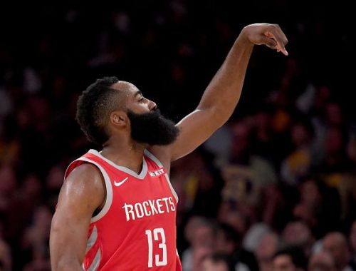 Harden is the reigning NBA MVP