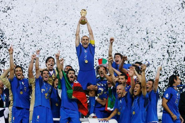Cannavaro went on to represent Italy in 4 World Cups