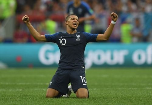 Mbappe won the World Cup at the age of 19