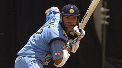 Yuvraj made his ODI Debut against kenya