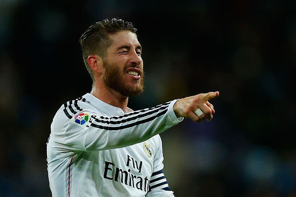 Ramos often gets befuddled while dealing with tricky passes