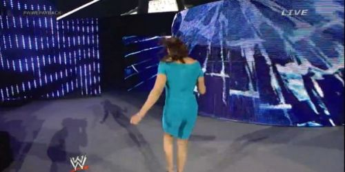 Was the lighting against Stephanie McMahon at Payback 2014?