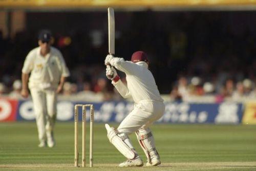 Brian Lara of the West Indies
