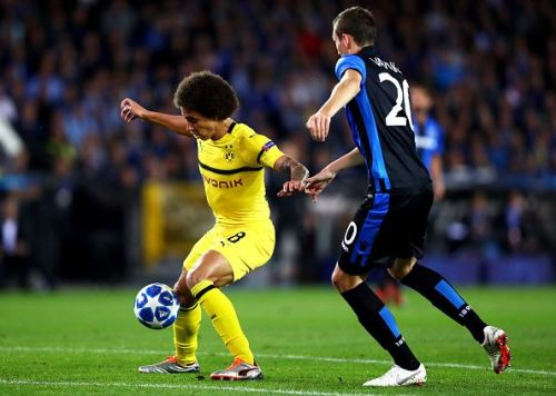 Witsel has improved Dortmund greatly