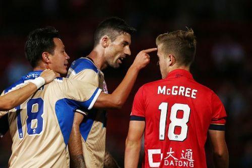 A-League Rd 20 - Adelaide v Newcastle