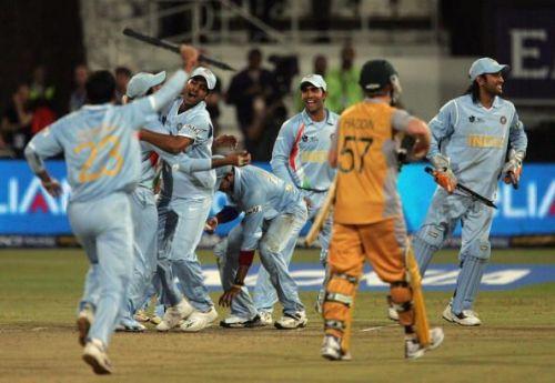 India vs Australia - 2007 World T20 semi-final