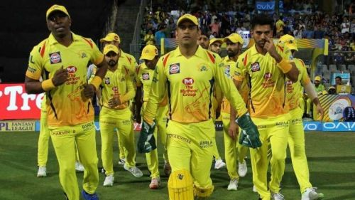 CSK released only 3 players