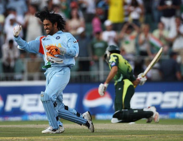 India won the Inaugural T20 World Cup under MS Dhoni's Captaincy