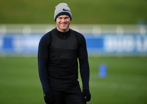 Wayne Rooney once again back in the England Training session