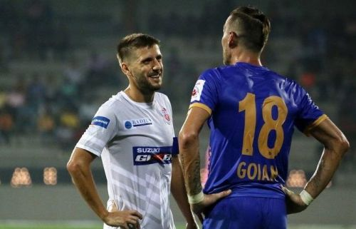 Emiliano Alfaro has scored just once for FC Pune City this season