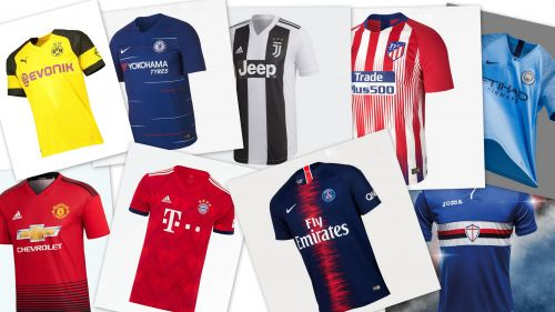 Ranking the 5 best kits in Europe this season