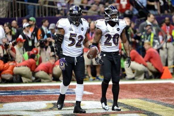 Ray Lewis and Ed Reed